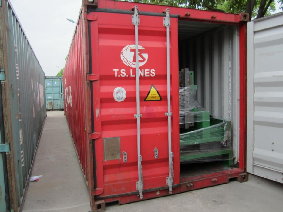 Container loading supervision